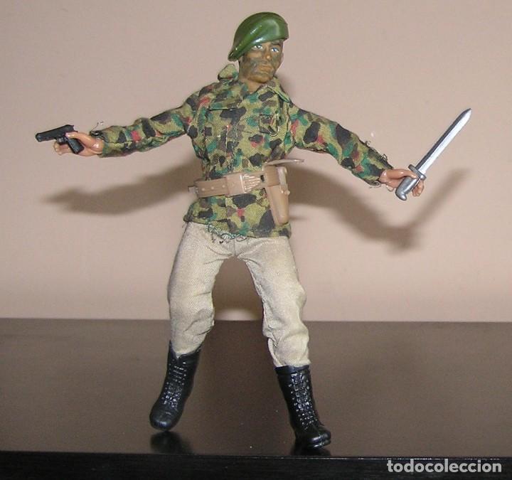Figuras y Muñecos Mego: Mego original oficial soldado militar original primera generación. compatible con madelman - Foto 3 - 118989939