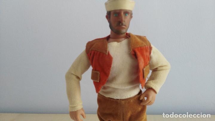 Figuras y Muñecos Mego: ANTIGUA FIGURA ACCION TIPO MEGO MARCA TONG - Foto 2 - 121842395