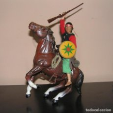 Figuras y Muñecos Mego: CABALLO PARA MEGO, BIG JIM, MARX TOY O ACTION-MAN TOTALMENTE EQUIPADO. SIMILAR MADELMAN MDE. Lote 130114643