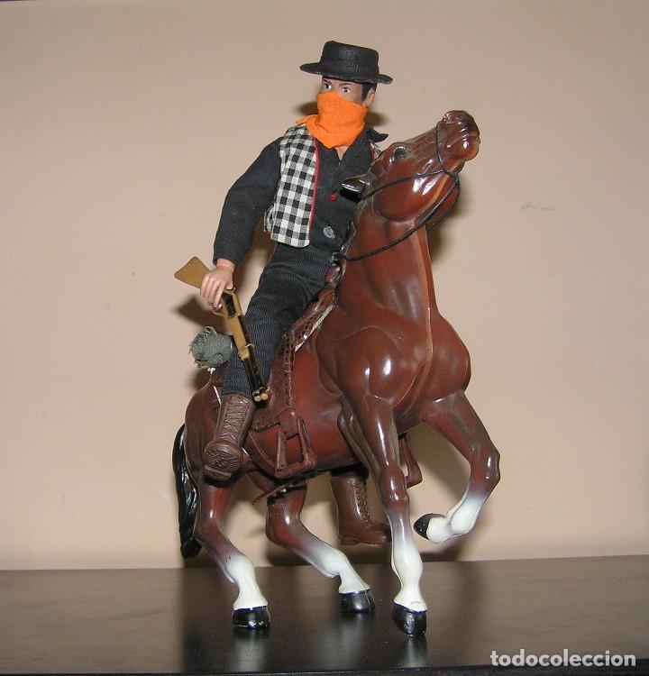Figuras y Muñecos Mego: Caballo para mego, big jim, marx toy o action-man totalmente equipado. Similar Madelman MDE - Foto 2 - 130114643