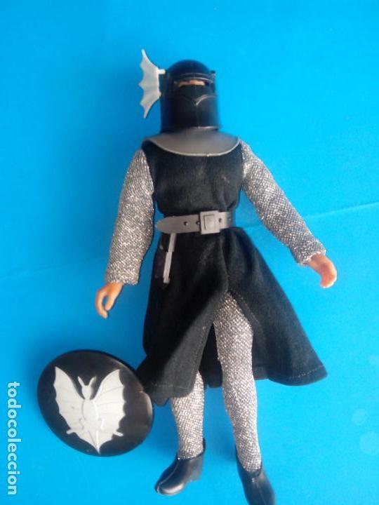 Figuras y Muñecos Mego: mego caballero negro - Foto 2 - 207168661