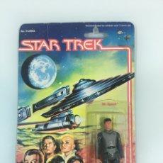 Figuras y Muñecos Mego: FIGURA STAR TREK MR. SPOCK EN BLISTER ORIGINAL MEGO 1979 (RESELLADO). Lote 132336837