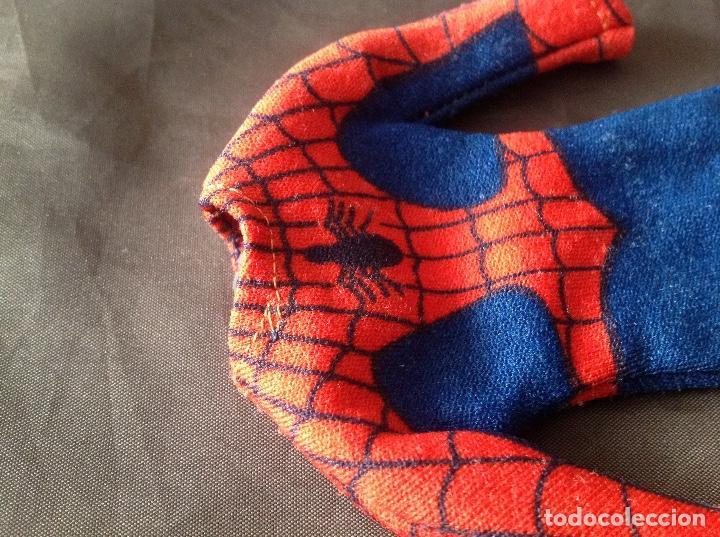 Figuras y Muñecos Mego: Traje clásico Spiderman Mego con una mancha VER FOTOS LEER DESCRIPCIÓN - Foto 14 - 134892830