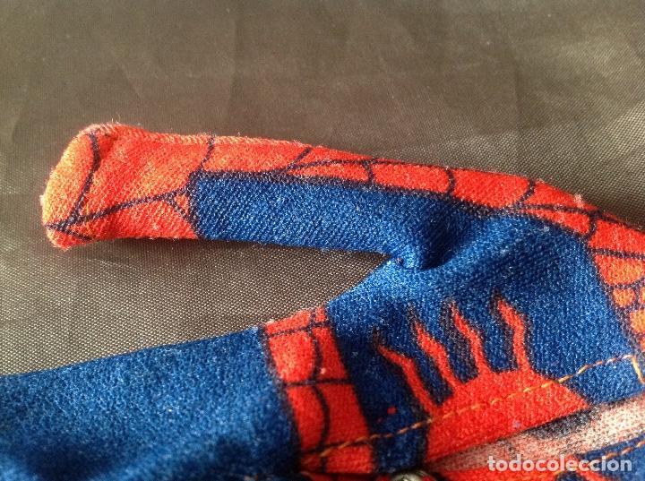 Figuras y Muñecos Mego: Traje clásico Spiderman Mego con una mancha VER FOTOS LEER DESCRIPCIÓN - Foto 17 - 134892830