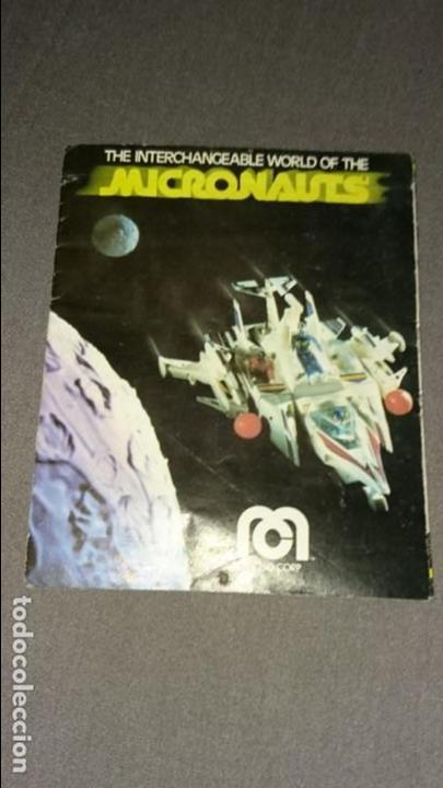 CATÁLOGO MICRONAUTS MEGO 1978 (Juguetes - Figuras de Acción - Mego)