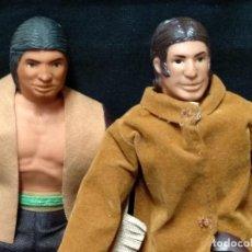 Figuras y Muñecos Mego: 2 FIGURAS ORIGINALES DE MEGO 1971 + ACCESORIOS - . Lote 139299790