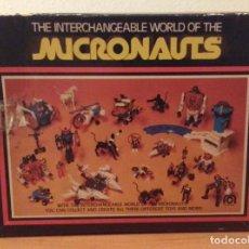 Figuras y Muñecos Mego: MICRONAUTS BETATRON VEHICULO MOTORIZADO 1978 MEGO CORP CON CATALOGO + INSTRUCCIONES. Lote 140617274