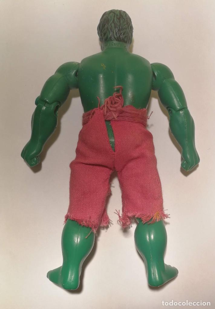 Figuras y Muñecos Mego: ANTIGUA FIGURA DE MEGO - HULK - MARVEL - AÑO 1974 - SUPER HEROES - EN BUEN ESTADO - - Foto 4 - 142621786