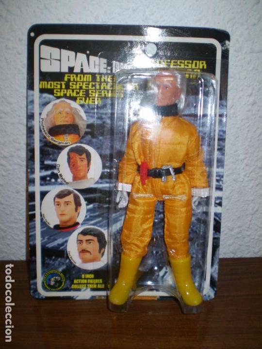 REEDICION MEGO PROFESSOR BERGMAN SPACE 1999 (ESPACIO 1999) 8 PULGADAS. (Juguetes - Figuras de Acción - Mego)
