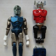 Figuras y Muñecos Mego: LOTE SPACE GLIDER + ACROYEAR MICRONAUT MICRONAUTS MEGO CORPORATION MADE IN HONG KONG 1976 1977. Lote 146028362