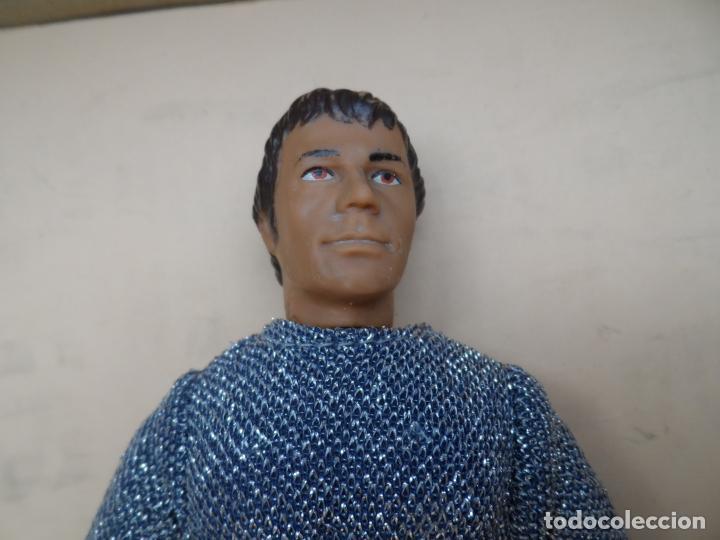 Figuras y Muñecos Mego: MEGO VINTAGE SUPER KNIGHTS SIR LANCELOT (LAUNCELOT) 1974 MEGO CORP - Foto 2 - 146616466