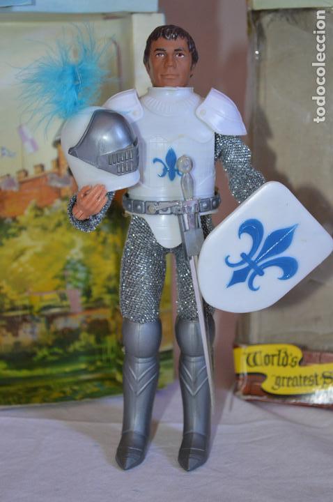 Figuras y Muñecos Mego: Sir Launcelot en caja. Mego. 1974. World's greatest Super-Knights. romanjuguetesymas. - Foto 2 - 168366772