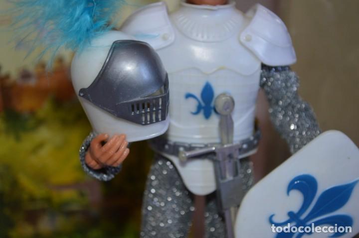 Figuras y Muñecos Mego: Sir Launcelot en caja. Mego. 1974. World's greatest Super-Knights. romanjuguetesymas. - Foto 3 - 168366772