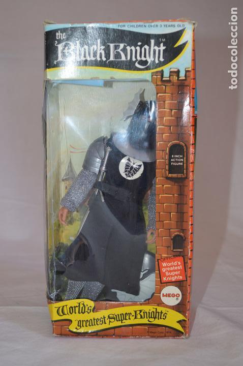 Figuras y Muñecos Mego: The Black Knight en caja. Mego. 1974. World's greatest Super-Knights. romanjuguetesymas. - Foto 6 - 168368164