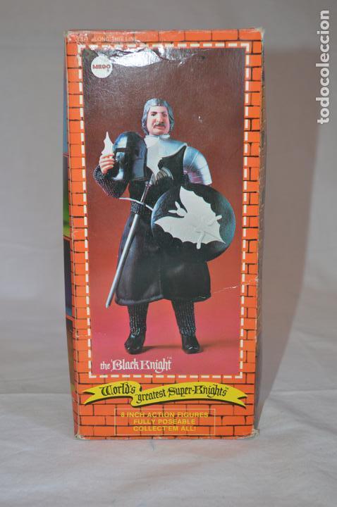 Figuras y Muñecos Mego: The Black Knight en caja. Mego. 1974. World's greatest Super-Knights. romanjuguetesymas. - Foto 7 - 168368164