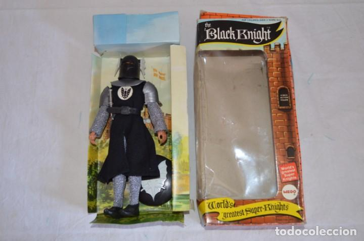 Figuras y Muñecos Mego: The Black Knight en caja. Mego. 1974. World's greatest Super-Knights. romanjuguetesymas. - Foto 8 - 168368164
