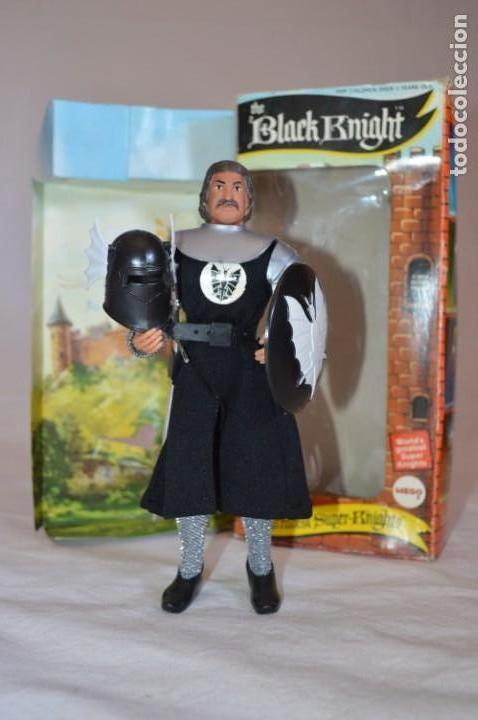 THE BLACK KNIGHT EN CAJA. MEGO. 1974. WORLD'S GREATEST SUPER-KNIGHTS. ROMANJUGUETESYMAS. (Juguetes - Figuras de Acción - Mego)