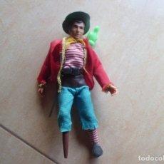 Figuras y Muñecos Mego: MEGO, PIRATA JHON SILVER, PRIMERO, AÑO 1.971. Lote 178276248