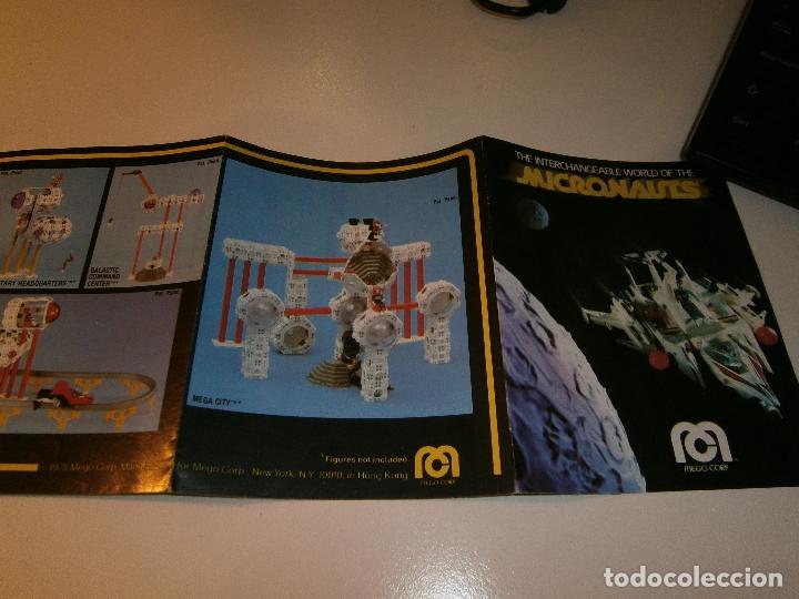 Figuras y Muñecos Mego: Catálogo micronauts - mego - 1978 - Foto 3 - 179051785
