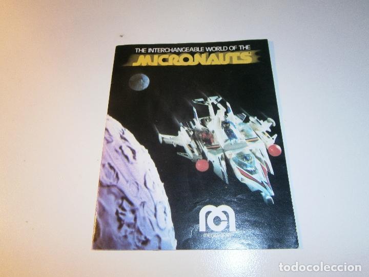 CATÁLOGO MICRONAUTS - MEGO - 1978 (Juguetes - Figuras de Acción - Mego)
