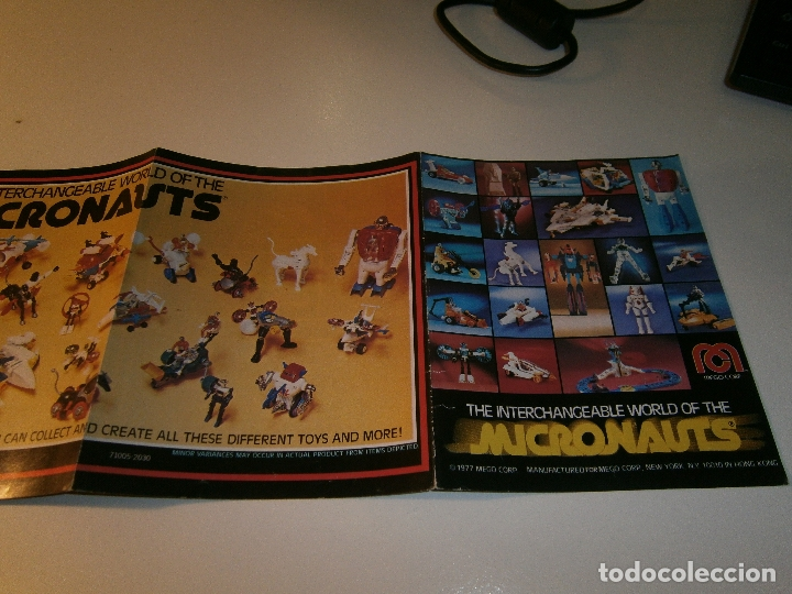 Figuras y Muñecos Mego: Catálogo micronauts - mego - 1977 - Foto 2 - 179051855
