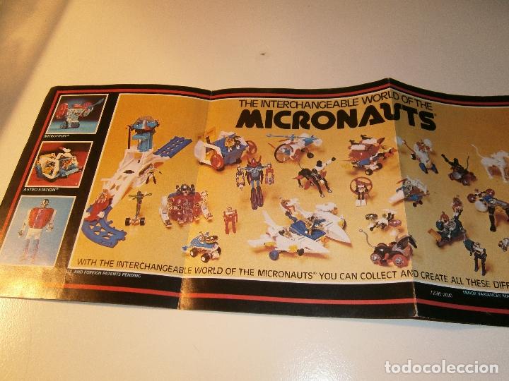 Figuras y Muñecos Mego: Catálogo micronauts - mego - 1977 - Foto 3 - 179051855