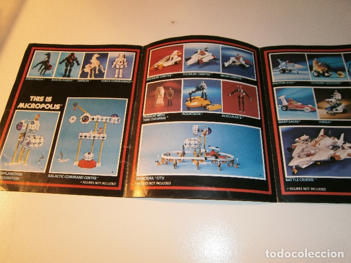 Figuras y Muñecos Mego: Catálogo micronauts - mego - 1977 - Foto 5 - 179051855