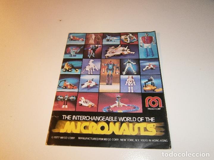 CATÁLOGO MICRONAUTS - MEGO - 1977 (Juguetes - Figuras de Acción - Mego)