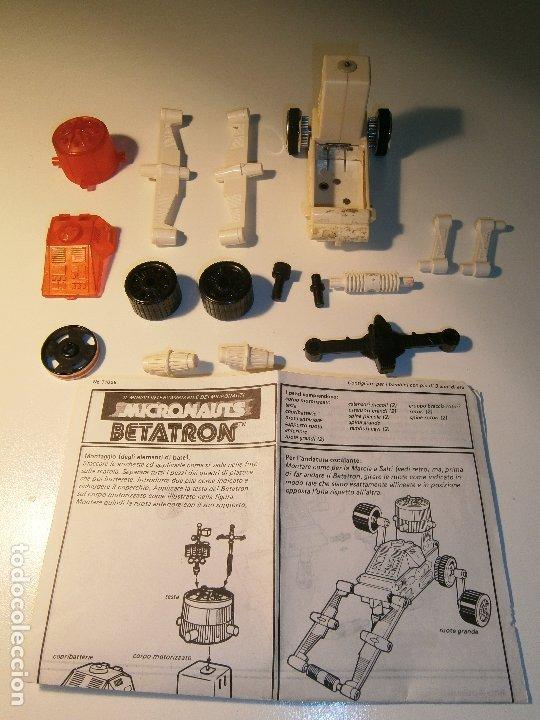 MICRONAUTS - MEGO - BETATRON - 1977 (Juguetes - Figuras de Acción - Mego)