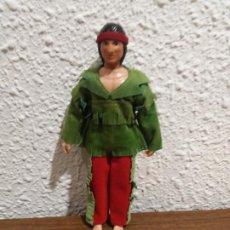 Figuras y Muñecos Mego: INDIO MEGO 8 PULGADAS. Lote 186368317
