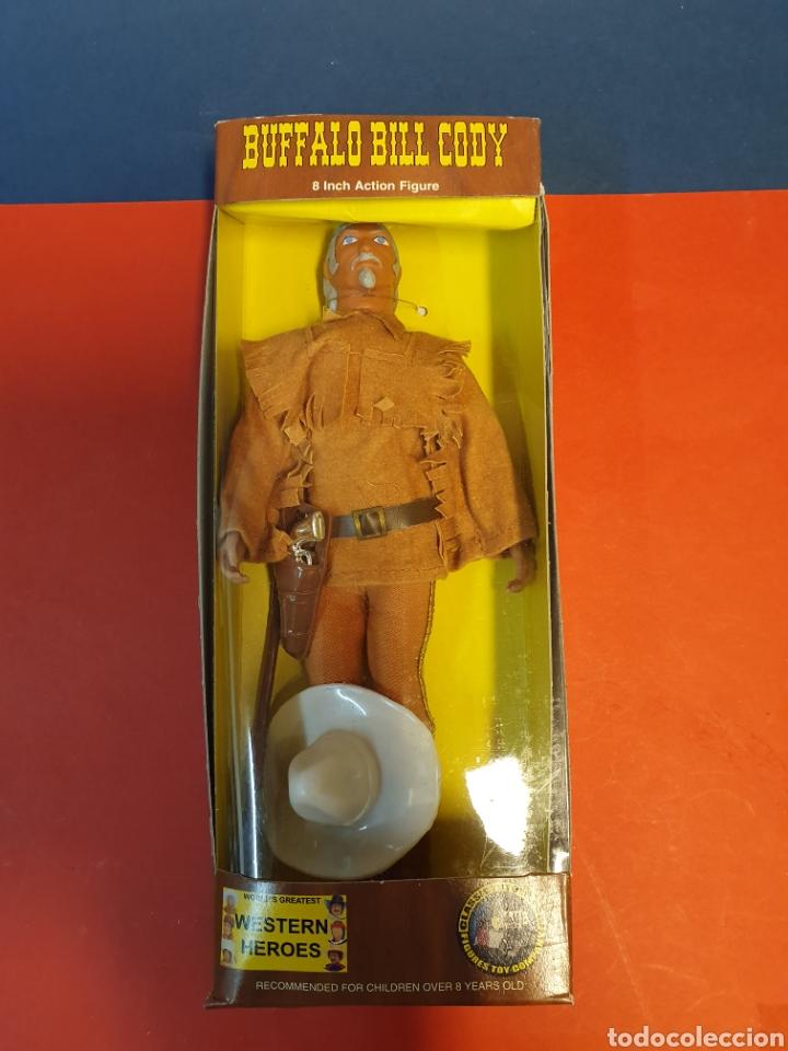 BUFALO BILL CODY MEGO REPRO (Juguetes - Figuras de Acción - Mego)