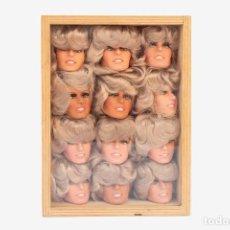 Figuras y Muñecos Mego: 12 CABEZAS FARRAH FAWCETT - 1977 - RAREZA!. Lote 194936518