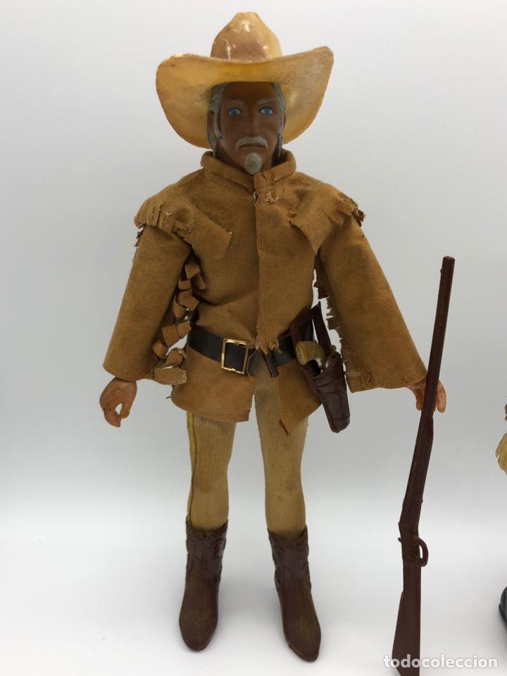 Figuras y Muñecos Mego: Lote 2 figuras MEGO BUFFALO BILL y MEGO WOLFMAN Hombre Lobo /No es madelman giperman - Foto 2 - 195678590