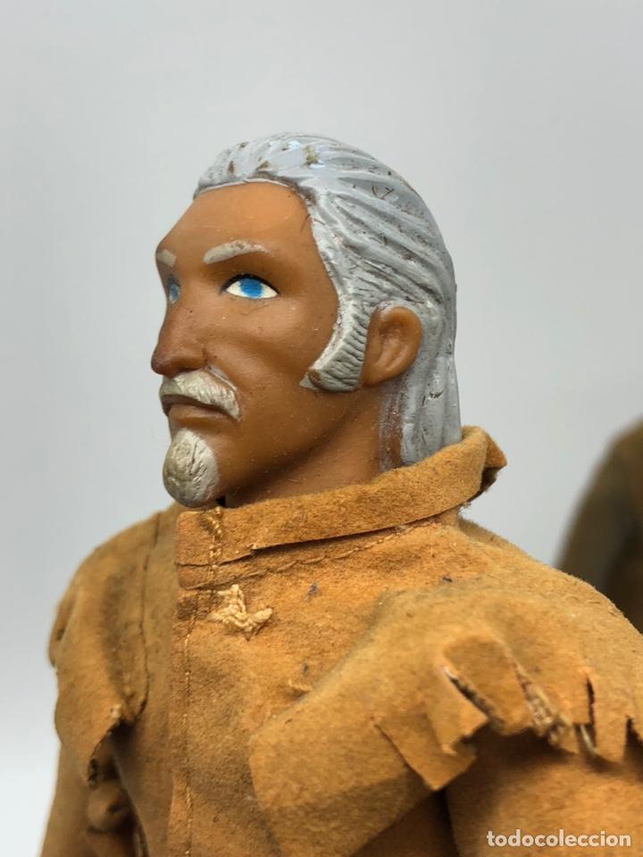 Figuras y Muñecos Mego: Lote 2 figuras MEGO BUFFALO BILL y MEGO WOLFMAN Hombre Lobo /No es madelman giperman - Foto 5 - 195678590