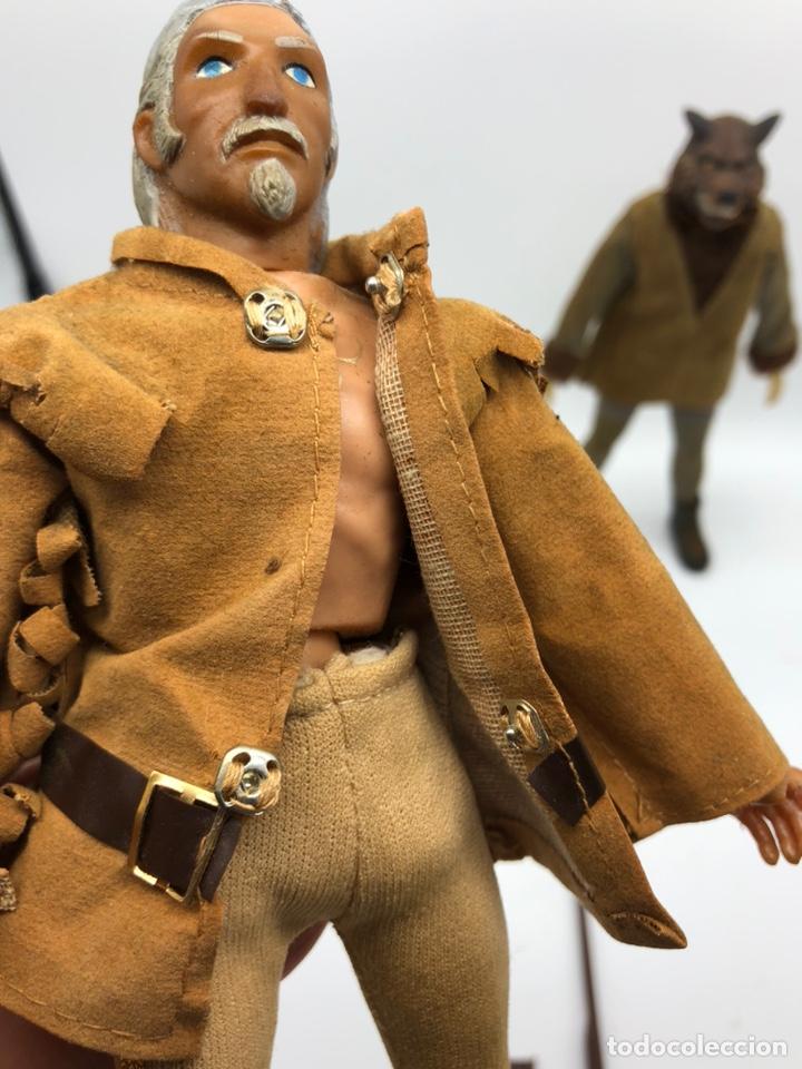 Figuras y Muñecos Mego: Lote 2 figuras MEGO BUFFALO BILL y MEGO WOLFMAN Hombre Lobo /No es madelman giperman - Foto 11 - 195678590