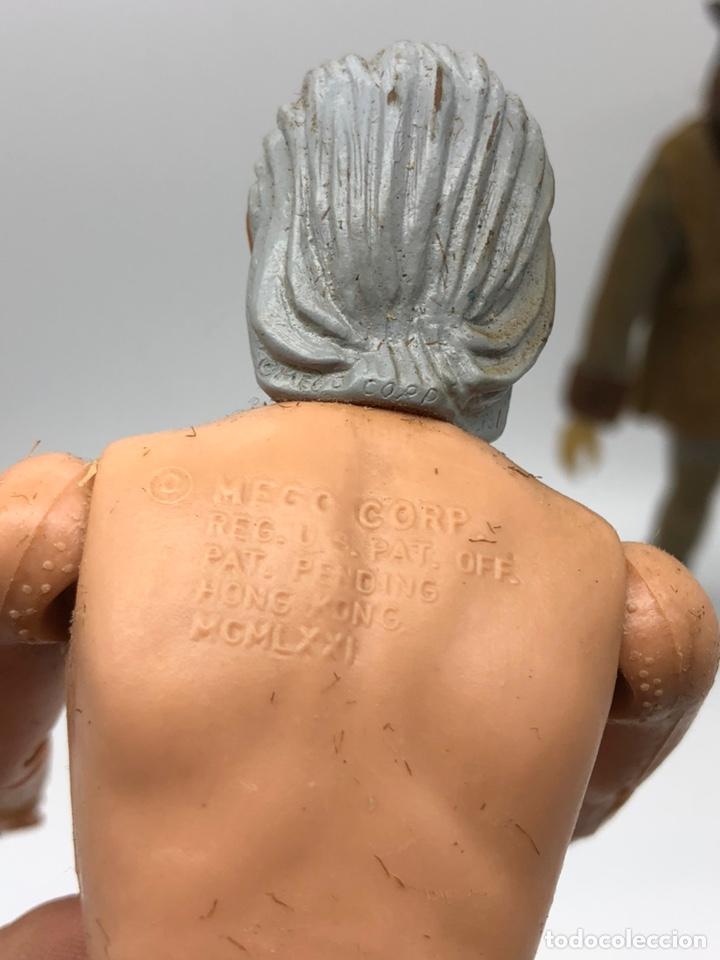 Figuras y Muñecos Mego: Lote 2 figuras MEGO BUFFALO BILL y MEGO WOLFMAN Hombre Lobo /No es madelman giperman - Foto 12 - 195678590