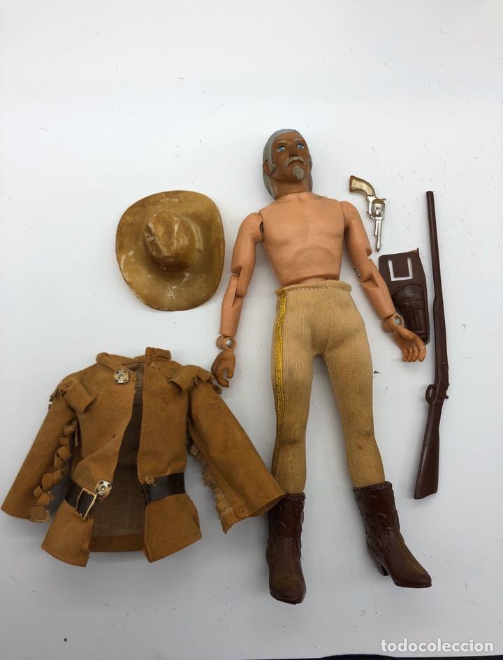 Figuras y Muñecos Mego: Lote 2 figuras MEGO BUFFALO BILL y MEGO WOLFMAN Hombre Lobo /No es madelman giperman - Foto 13 - 195678590