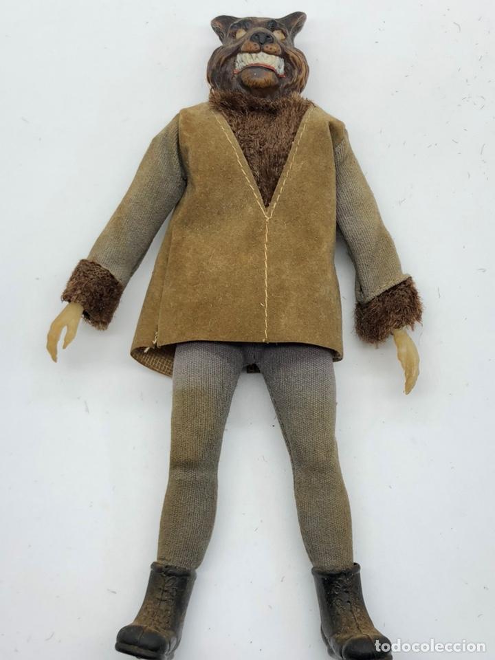 Figuras y Muñecos Mego: Lote 2 figuras MEGO BUFFALO BILL y MEGO WOLFMAN Hombre Lobo /No es madelman giperman - Foto 21 - 195678590