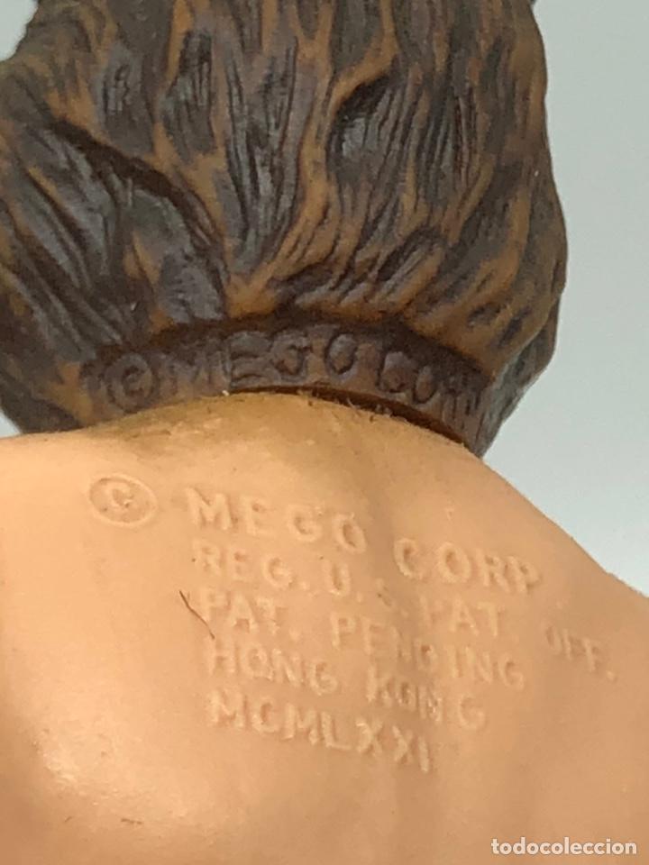 Figuras y Muñecos Mego: Lote 2 figuras MEGO BUFFALO BILL y MEGO WOLFMAN Hombre Lobo /No es madelman giperman - Foto 28 - 195678590