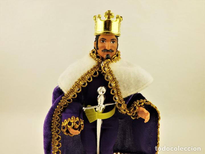 Figuras y Muñecos Mego: Mego Classic TV Toys Rey Arturo Serie Greatest Super Knights - Foto 2 - 198085525