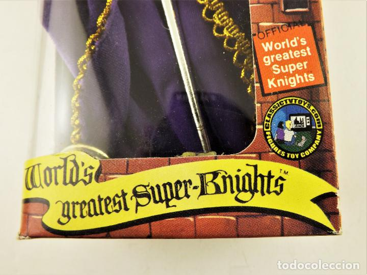 Figuras y Muñecos Mego: Mego Classic TV Toys Rey Arturo Serie Greatest Super Knights - Foto 6 - 198085525