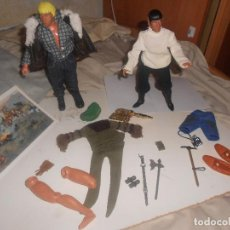 Figuras y Muñecos Mego: LOTE SPOCK, STAR TREK, PLANETA SIMIOS, OESTE..MEGO VINTAGE, MADELMAN, BIG JIM...OFERTA. Lote 209141520