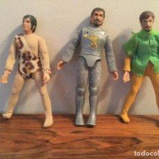Figurines et Jouets Mego: ANTIGUO LOTE FIGRAS MEGO ROBIN HOOD, TARZAN, GUERRERO. Lote 209606910