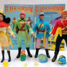 Figuras y Muñecos Mego: MEGO - FLASH GORDON - 1976 - COLECCIÓN COMPLETA DE 4 FIGURAS. Lote 211276621