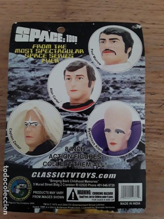 Figuras y Muñecos Mego: Space 1999 Paul Morrow - Foto 2 - 221458366