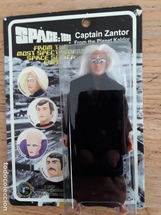 SPACE 1999 CAPTAIN ZANTOR (Juguetes - Figuras de Acción - Mego)