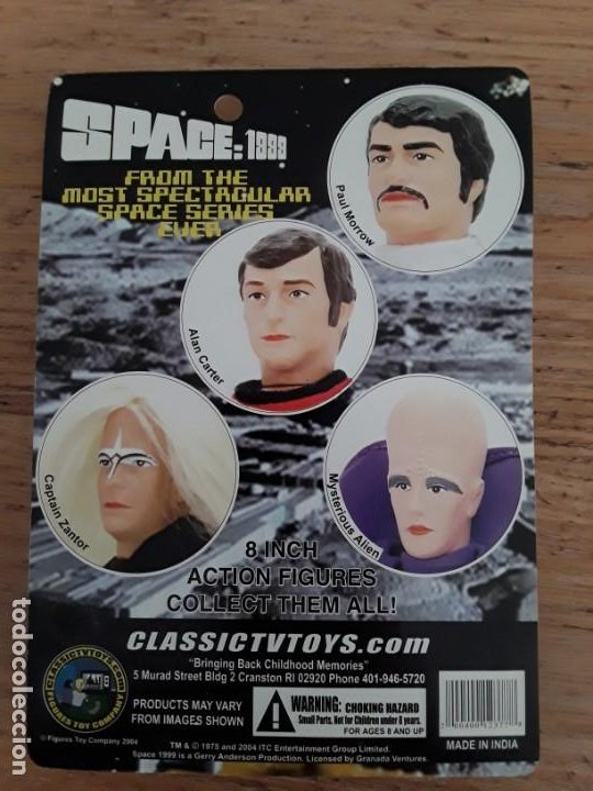 Figuras y Muñecos Mego: Space 1999 Captain Zantor - Foto 2 - 221458612