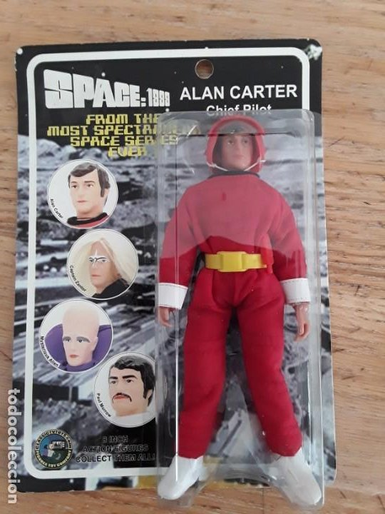 SPACE 1999 ALAN CARTER (Juguetes - Figuras de Acción - Mego)
