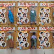 Figuras y Muñecos Mego: MEGO OUR GANG LA PANDILLA TAMAÑO MADELMAN. Lote 222530223