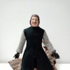 Figuras y Muñecos Mego: FIGURA MUÑECO MEGO CABALLERO NEGRO. Lote 222704252
